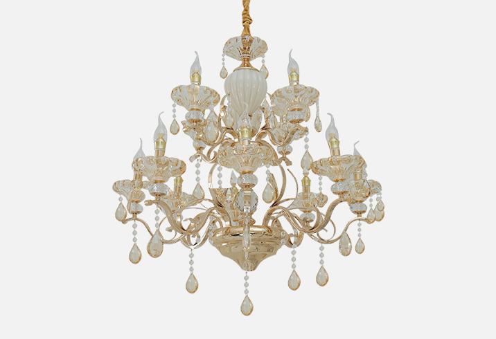 法式水晶吊灯