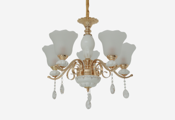 陶瓷水晶灯